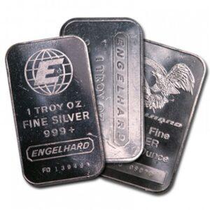 1 OZ Silver Bars