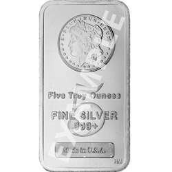 5 OZ Silver Rounds