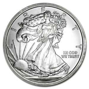 1/10 OZ Silver Rounds