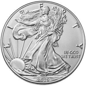 American Silver Eagle Business Strike