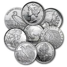 Fractional Silver Rounds